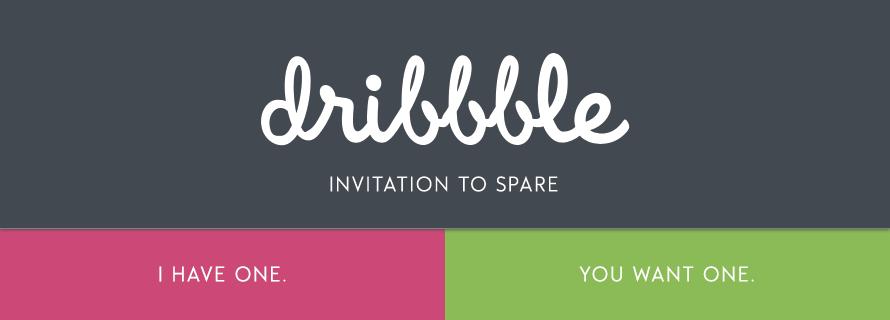 dribbble-invite